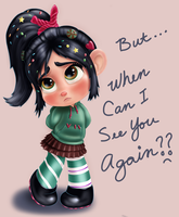Vanellope - But... When Can See You Again? by artistsncoffeeshops