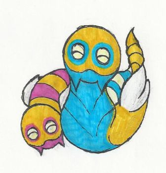 #206 - Dunsparce by greymuzzles