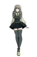 Danganronpa OC Sumie Aihara by Rei-Microwave