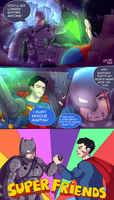 Batman vs Superman (?) by SpideyHog