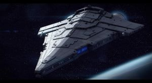 Imperial Star Destroyer War Galleon by AdamKop
