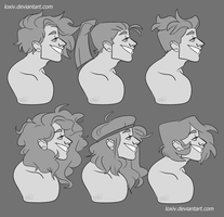 Hair Practice by Loxiv