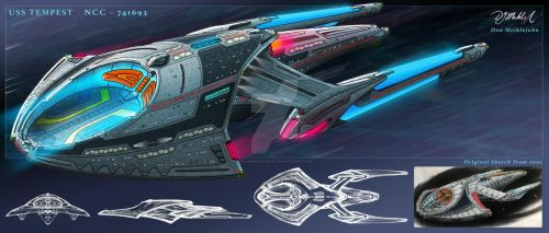 USS Tempest by DonMeiklejohn