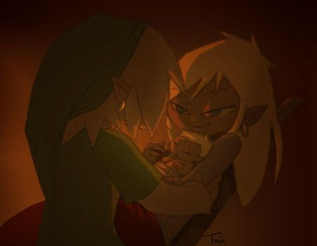 Link and Tetra: Firstborn by BeagleTsuin