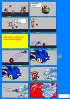 Sonic e chaos version quase dx by sonicnews