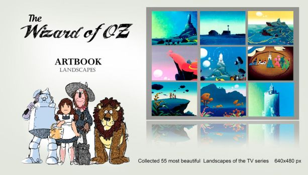 The Wizard Of OZ [ARTBOOK] by amadis33