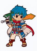 Fire Emblem Chibi - Ike Colored by Maiko-Girl