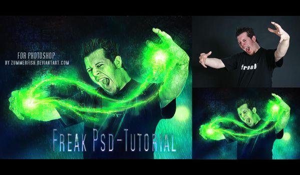 Freak PSD Tutorial by zummerfish