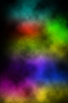 Neon Clouds iPhone by illage2