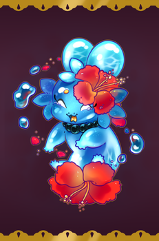 DTA Entry Hibiscus Sea by Sliver-Of-Moonlight