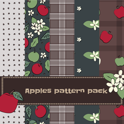 Apples pattern pack by Kats-Tales