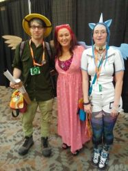 Me , Tabitha St Germain and my gf by ElementShimmer