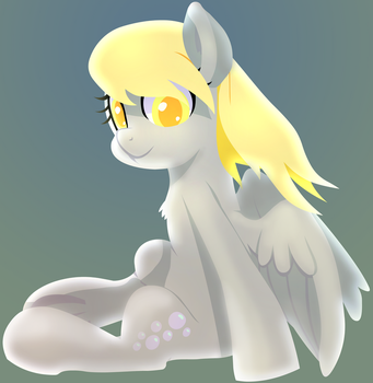 Derpy Hooves by mywatercolorheart