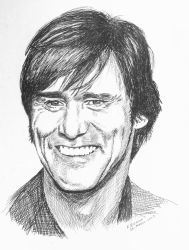 jim carrey by RobertoBizama