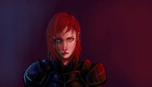 Shepard Indoctrined by Yosh9