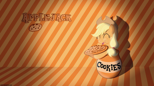 I can eat all these cookies! - 4k Wallpaper by P3r0