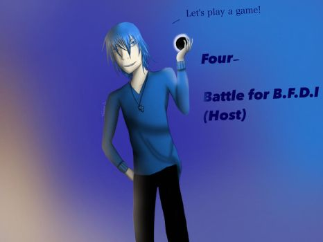 Four (Host) BFB (Battle for BFDI) (tags) by LittleMissTreasure