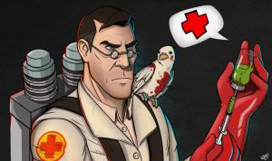 Medic by Zil-Art
