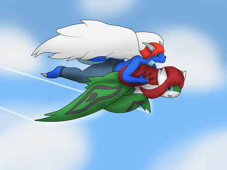 flying cuties~ by jacobgord12345