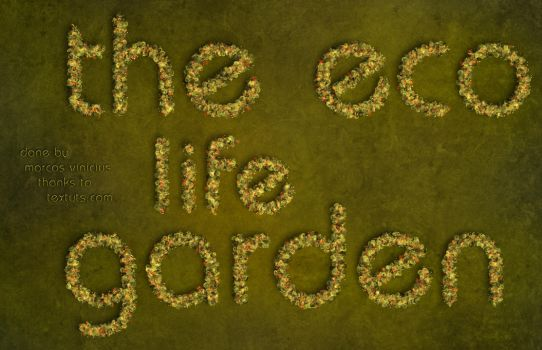 Eco Text Effect by marcoswebdesign