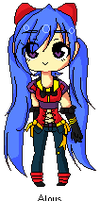 Aloys Pixel by LizToonsewe