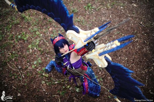 Monster Hunter 3U Nargacuga X Cosplay Evil-Siren by Evil-Siren