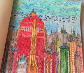 The New World - Doctor Who Coloring Book by mkayswritings