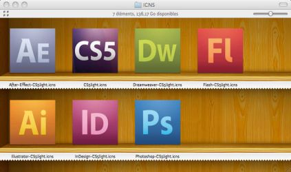 Adobe CS5 icons Light by JacKSparr0W