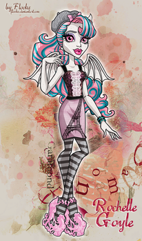 Monster high: Rochelle Goyle/Scaris City of Fright by Flooks