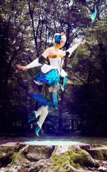 Cosplay Gwendolyn from Odin Sphere by MahoCosplay