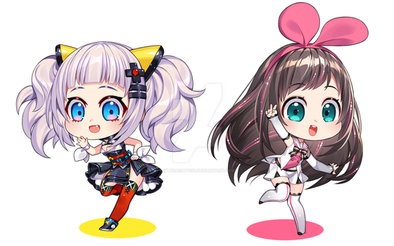 Virtual Youtubers by UltraCat7724
