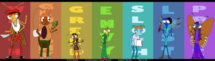 The Seven Sinful Insects by thehurricanes