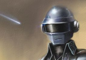 Daft Punk detail 02 by Helroir