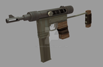 Rust Concept SMG by newdeal666