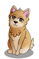 Corgi dog thing by Pinkwolfly