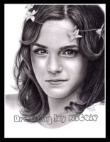 Emma Watson Drawing by xnicoley