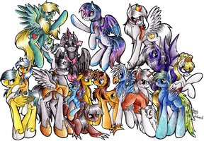 My OCs, that I love~! by Julunis14