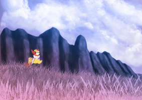 Landscape practice by Xael-The-Artist