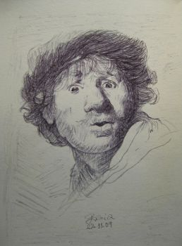 Rembrandt by blubviss