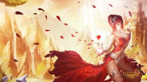 League of Angels - Amora 1366x768 by GTArcade