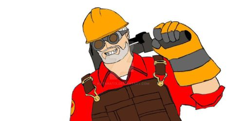 the engie in red by Katanatix
