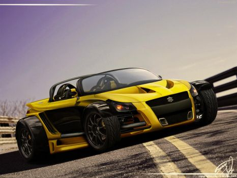 Suzuki Yellow Hornet GTR by RS--Design