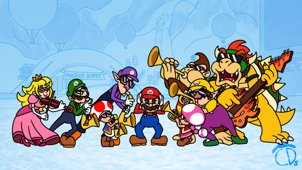 Mount Wario Brass Band by EndangeredCDs