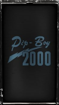 Pipboy 2000 Stealth (Blue) by sitrirokoia