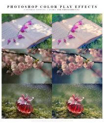 Photoshop Color play effects by meganjoy