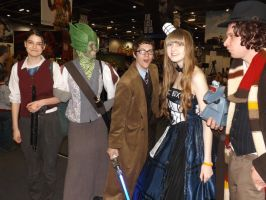 Doctor Who cosplays, MCM Expo London- May 2013 by Pixie-Aztechia