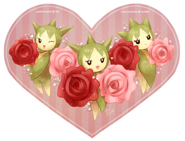 PokeLove Challenge: Day 3 - A Flower Pokemon! by QuantumJinx