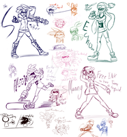 Splatoon StreamArt by illus-D-Ente