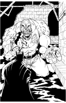 Killer Croc by sketchheavy