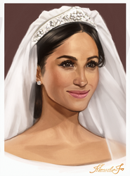 Duchess of Sussex by MarcelaFreire